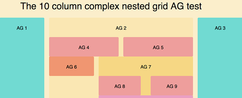 Complex Grid Layout