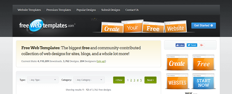 Free Website Templates You Must Look Out In WebDesignColumn - Free webtemplates