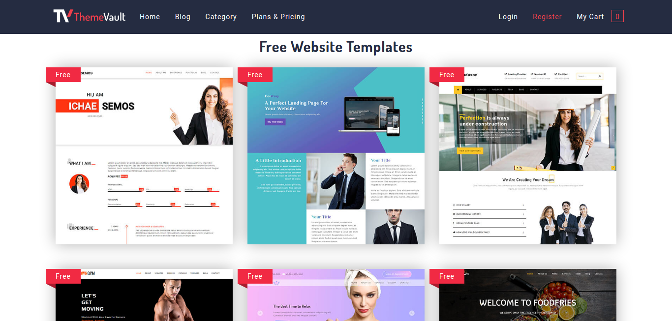 10 Free Website Templates You Must Look Out In 2018 Webdesigncolumn